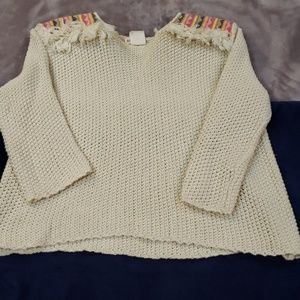 Billabong Knitted Mesh Sweater